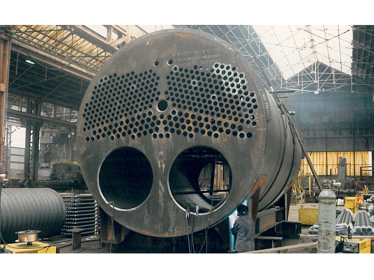 Fire Tube Boiler With 2 Gas Burners Boiler Epc Division