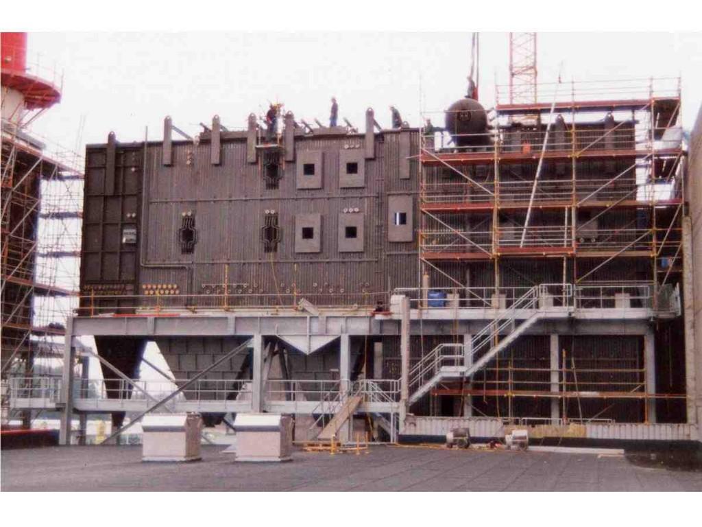 Waste municipal incinerator HRSG