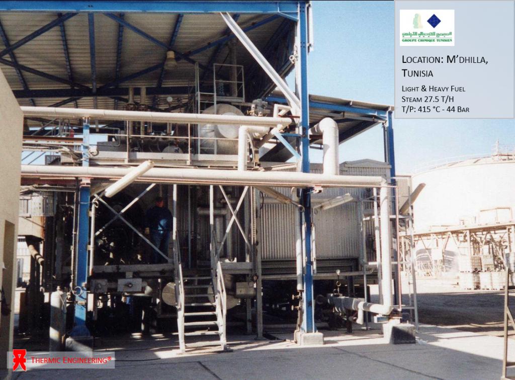M'dhilla, Tunisia - Thermic Engineering