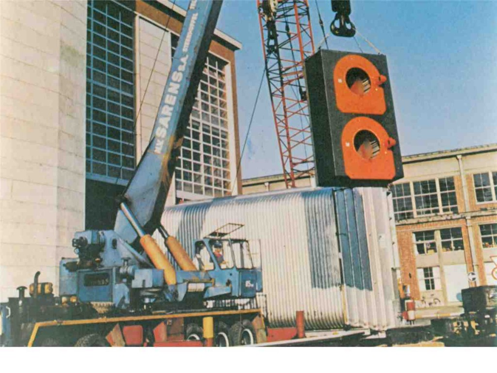 hot_water generator erection