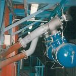 Compressed air sootblower