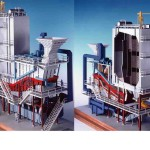 Heat recovery boiler after municpal incinerator model