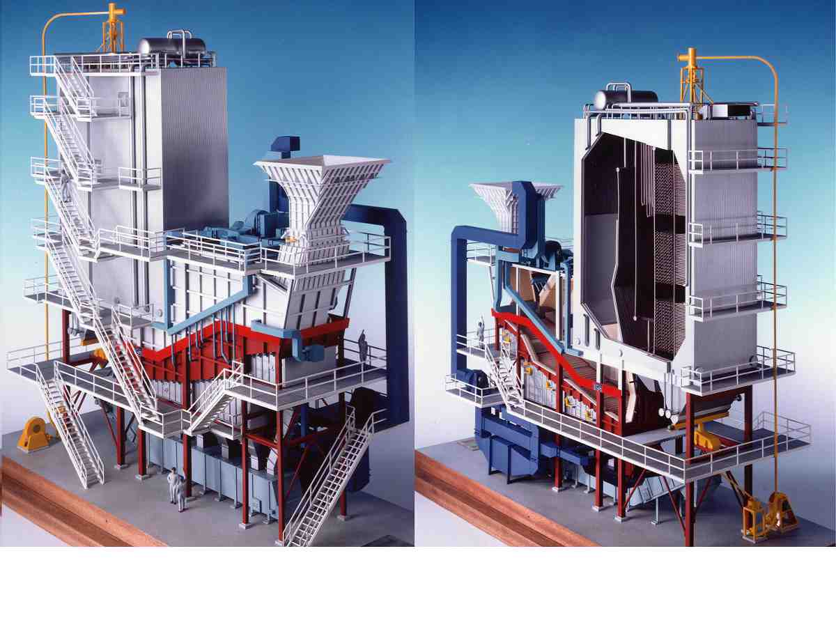 Boiler System Incinerator Power Plant Schematic Pictures Of