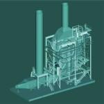 3D of cogenerator